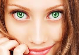 eye colour change